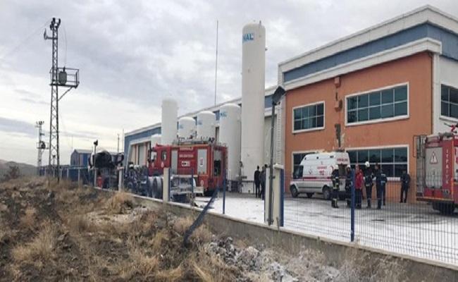 Kırıkkalede gaz dolum tesisinde patlama
