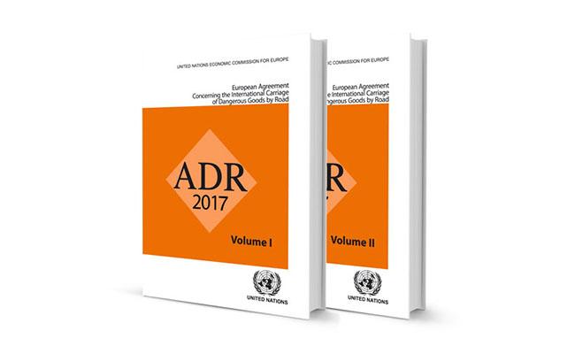 ADR ve RID 2017 versiyonları